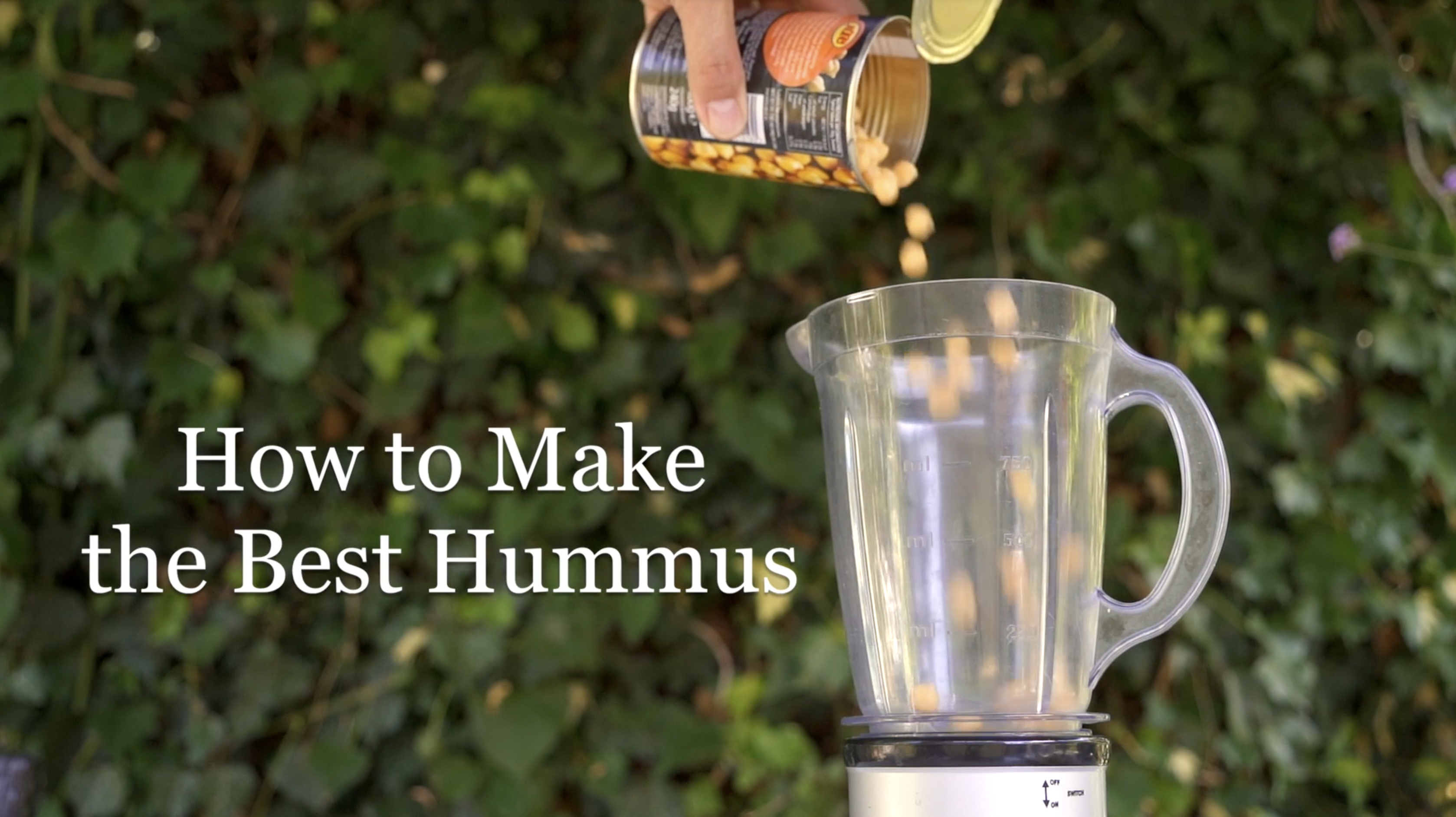 How to make the best hummus video